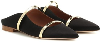 Malone Souliers Maureen satin slippers