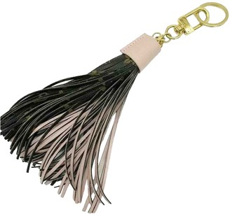 Louis Vuitton Tassel Brown Leather Bag charms