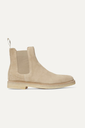 Common Projects Suede Chelsea Boots - Sand
