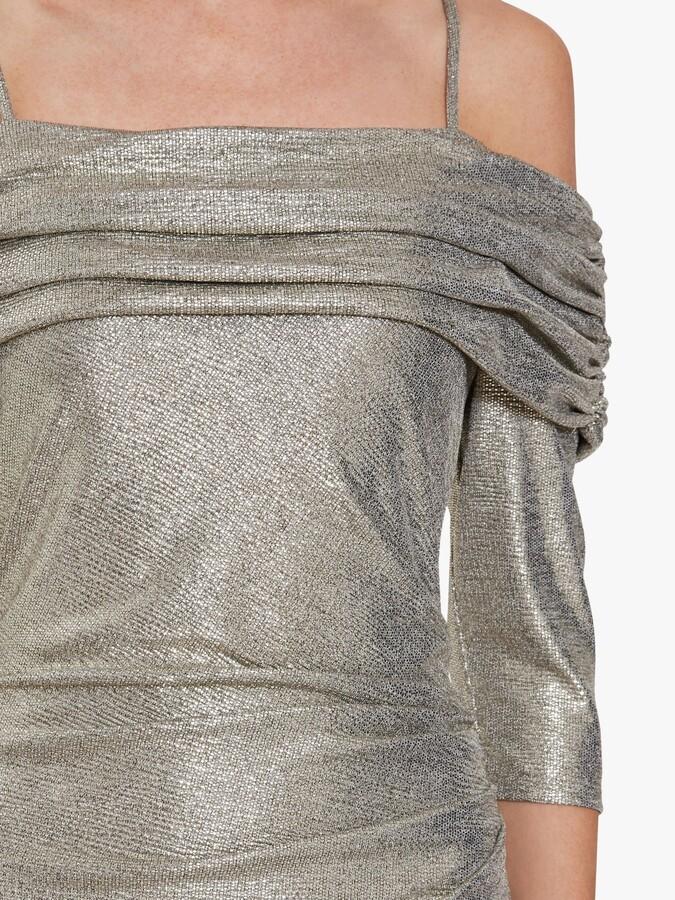 Thumbnail for your product : Gina Bacconi Hosanna Metallic Maxi Dress