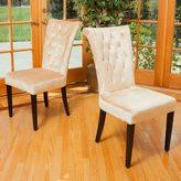 Christopher Knight Home Viola Velvet Dining Chair (Set of 2)