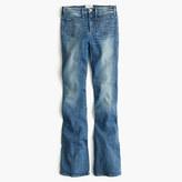 J.Crew McguireTM Inez patch flare jean in indigo