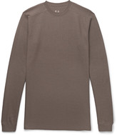 Rick Owens - Slim-fit Waffle-knit Wool Sweater