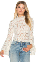 Free People Kiss and Bell Lace Top