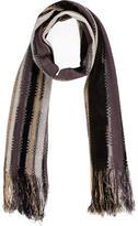 Missoni Fringe-Trimmed Striped Scarf