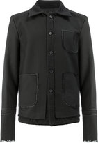 Yang Li frayed jacket
