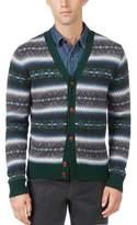 Tommy Hilfiger Mens Multi-Tone Cardigan Sweater 921 S