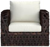 Williams-Sonoma Williams Sonoma Basket Weave Lounge Chair