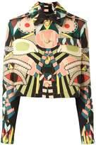 Givenchy 'Crazy Cleopatra' grain de poudre jacket