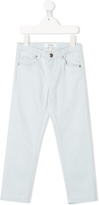 Bonpoint Mid Rise Straight-Leg Jeans