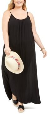 Raviya Plus Size Sleeveless Cover-Up Maxi Dress Women's Swimsuit