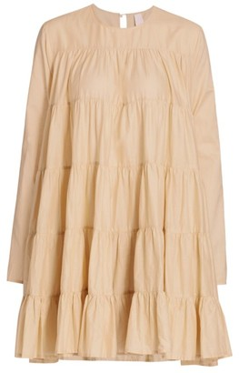 Merlette New York Soliman Tiered Trapeze Dress