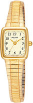 Pulsar Mens Gold-Tone Stainless Steel Expansion Bracelet Watch PPH520