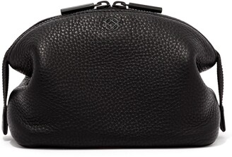 Dagne Dover Small Lola Leather Cosmetics Pouch