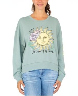 Rebellious One Juniors' Follow The Sun Sweatshirt