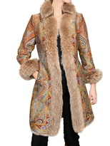 Etro - Reversible Coyote-Rabbit Fur Coat