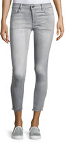 DL1961 Florence Instasculpt Cropped Denim Jeans, Gray