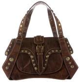 Roberto Cavalli Stud Embellished Bag