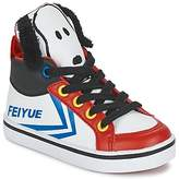 Feiyue DELTA MID PEANUTS White / Black / Red