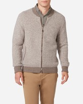 N.Peal Zip Through Cashmere Bomber Jacket