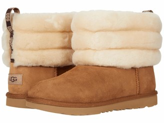 UGG girls Fluff Mini Quilted Classic Boot