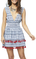 MinkPink Aztec Tassle Ra Ra Dress