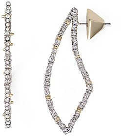 Alexis Bittar Swarovski Crystal-Encrusted Abstract Thorn Drop Earrings