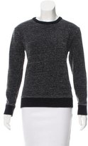 Alexander Wang Crew Neck Textured Sweatshirt