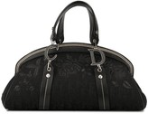 Christian Dior pre-owned rose embroidery Trotter tote