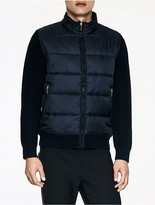 Calvin Klein Platinum Padded Zip Cardigan