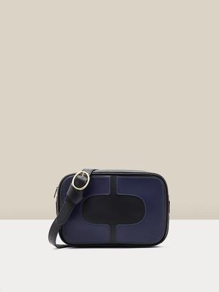Diane von Furstenberg Chainlink Leather Crossbody Camera Bag
