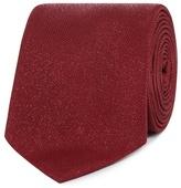 Black Tie Red Speckled Tie