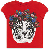 Gucci Baby tiger print t-shirt