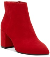 INC International Concepts Inc Women's Omira Pointed-Toe Block-Heel Booties, Created For Macy's Women's Shoes