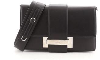 Prada Metal Ribbon Shoulder Bag City Calfskin Medium