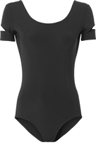 Helmut Lang Cold Shoulder Low Back Bodysuit