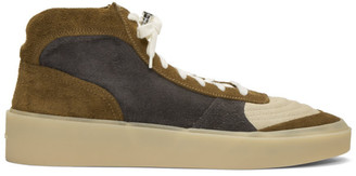 Fear Of God SSENSE Exclusive Green and Grey Strapless Skate Sneakers