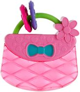 Kids II Pretty in Pink Carry & Teether Purse