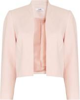 Wallis PETITE Blush Cropped Blazer