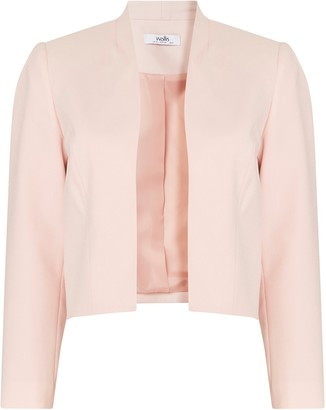 Wallis PETITE Blush Cropped Blazer