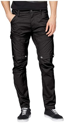 G Star G-Star Front Pocket Slim Cargo Pants (Dark Black) Men's Casual Pants