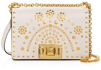 Furla Mimí Mini Studded Leather Crossbody