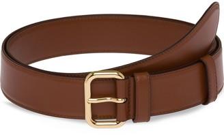 Miu Miu Classic Leather Belt