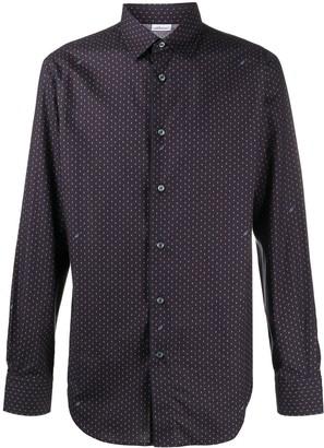 Brioni Paisley Cotton Shirt