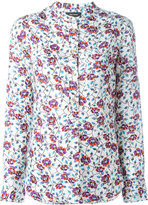 Isabel Marant floral blouse - women - Silk - 38