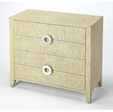 Everly Painswick 4 Drawer Bachelor's Chest Quinn Color: Cream