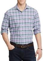 Polo Ralph Lauren Plaid Oxford Classic Fit Button-Down Shirt