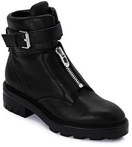 Dolce Vita Women's Lurra Almond Toe Leather Booties