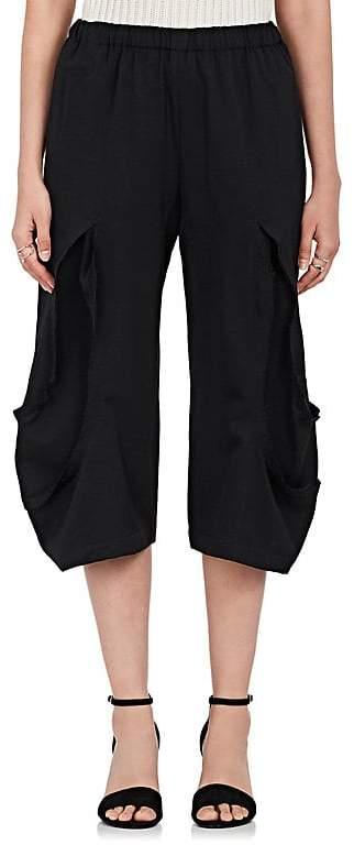 Comme des Garcons Women's Reverse-Seam Wool Crop Pants