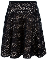 Aquilano Rimondi Aquilano.Rimondi lace flared pleated skirt